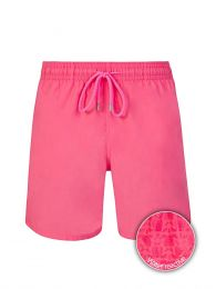 Pink Shellfish & Turtles Water-Reactive Swim Shorts