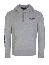 Grey Polo Sport Fleece Hoodie