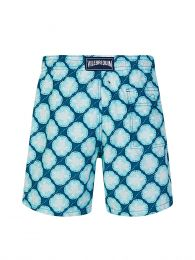 Blue Wax Turtles Swim Shorts