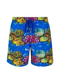 Blue X Hunt Slonem Swim Shorts