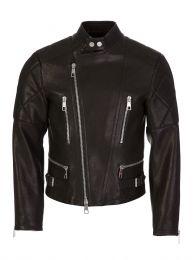 Black Leather Rider Jacket