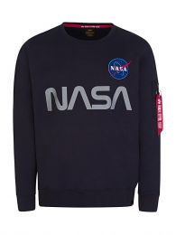 Navy NASA Reflective Sweatshirt