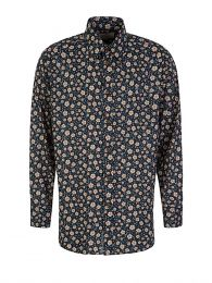 Black Krall Flowers Shirt