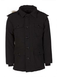 Black Banff Coat