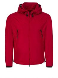 Red Massereau Logo Hood Jacket