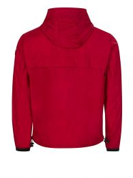 Red Massereau Logo Hood Jacket