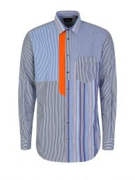 Joli Pinstripes Mix Shirt
