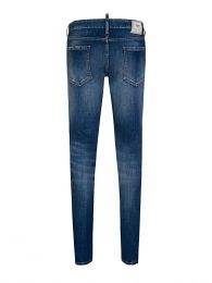 Simple Blue Medium Slim Jeans