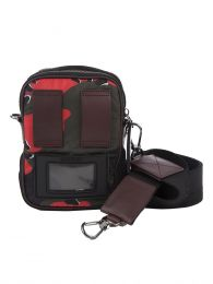 Red Camo Detour Crossbody Bag
