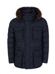 Navy Augert Jacket