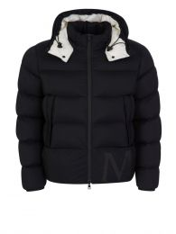 Black Wilms Giubbotto Padded Jacket