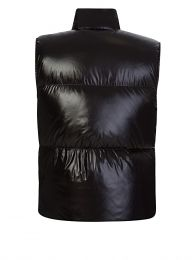 Black Goose Down Gilet