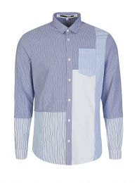 Blue Multiprint Shirt