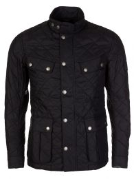 Black Ariel Quilted Jacket