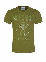 Green Tonal Milano Print Logo T-Shirt