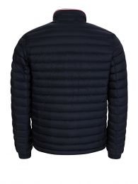 Navy Blue Packable Down Filled Jacket