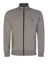 Grey Zip-Through Track Jacket