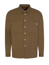 Brown Casual Fit Shirt