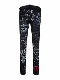 Black Rock Print ICON Cool Guy Jeans