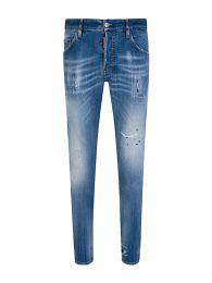 Blue Denim Skater Jeans