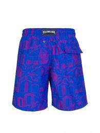 Purple Cabines De Plage Swim Shorts