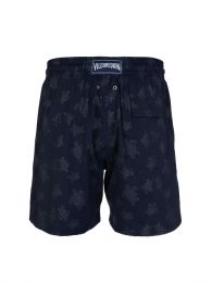 Blue Turtle Print Swim Shorts