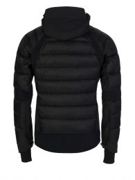 Black Hybridge Jacket