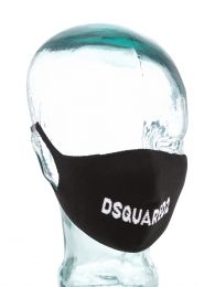 Black Logo Face Mask