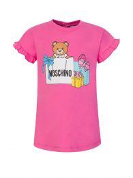 Kids Pink Present Bear Baby Dress