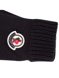 Black Logo Gloves