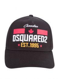 Kids Black Canadian 1995 Logo Cap
