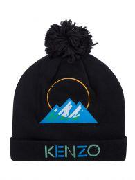 Black Mountain Logo Beanie Hat