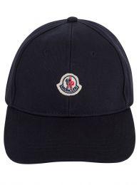 Navy Cotton Logo Cap