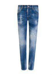 Kids Stonewashed Blue Denim Cool Guy Jeans