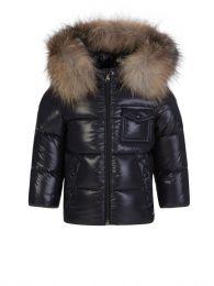 Navy K2 Fur Jacket