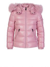Pink Bady Fur Jacket