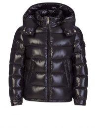 Black New Maya Padded Puffer Jacket