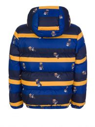 Junior Blue/Yellow Polo Bear Hawthorne Jacket
