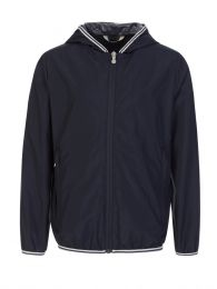 Kids Navy Hendrick Windbreaker Jacket