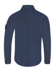 Junior Blue Two Pocket Overshirt