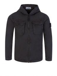 Junior Black Overshirt