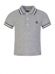 Grey Baby Polo Shirt