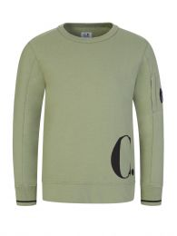 Green Hip Logo Sweatshirt