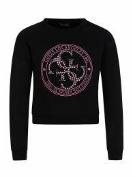 Kids Black Active Sweatshirt