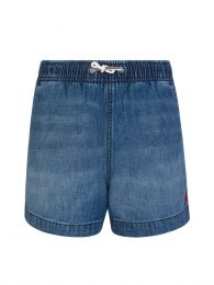 Kids Blue Denim Prepster Shorts