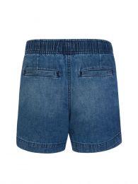 Kids Blue Denim Prepster Shorts