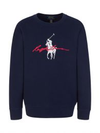 Kids Navy Fleece Sweatshirt