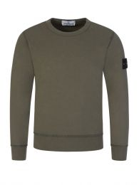 Junior Green Utility Sweatshirt