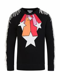 Black Stars & Fringes Sweatshirt