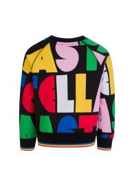 Black Stella Fleece Sweatshirt